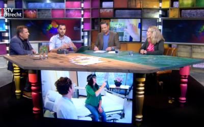 RTV-Utrecht: PR Medische Inspiratorprijs 2019, Dwarslaesieproject met de Hoogstraat